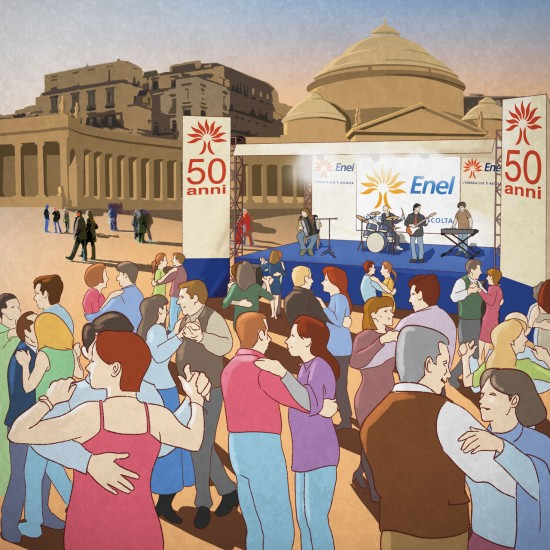 Ballo a Napoli (Dance party in Naples)
