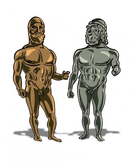 Riace's bronzes (Bronzi di Riace)