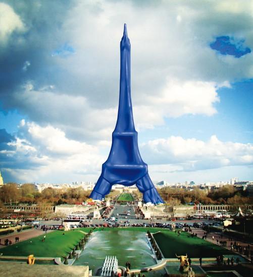 Covered Eiffel tower (torre Eiffel coperta)