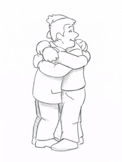 abbraccio_sketch