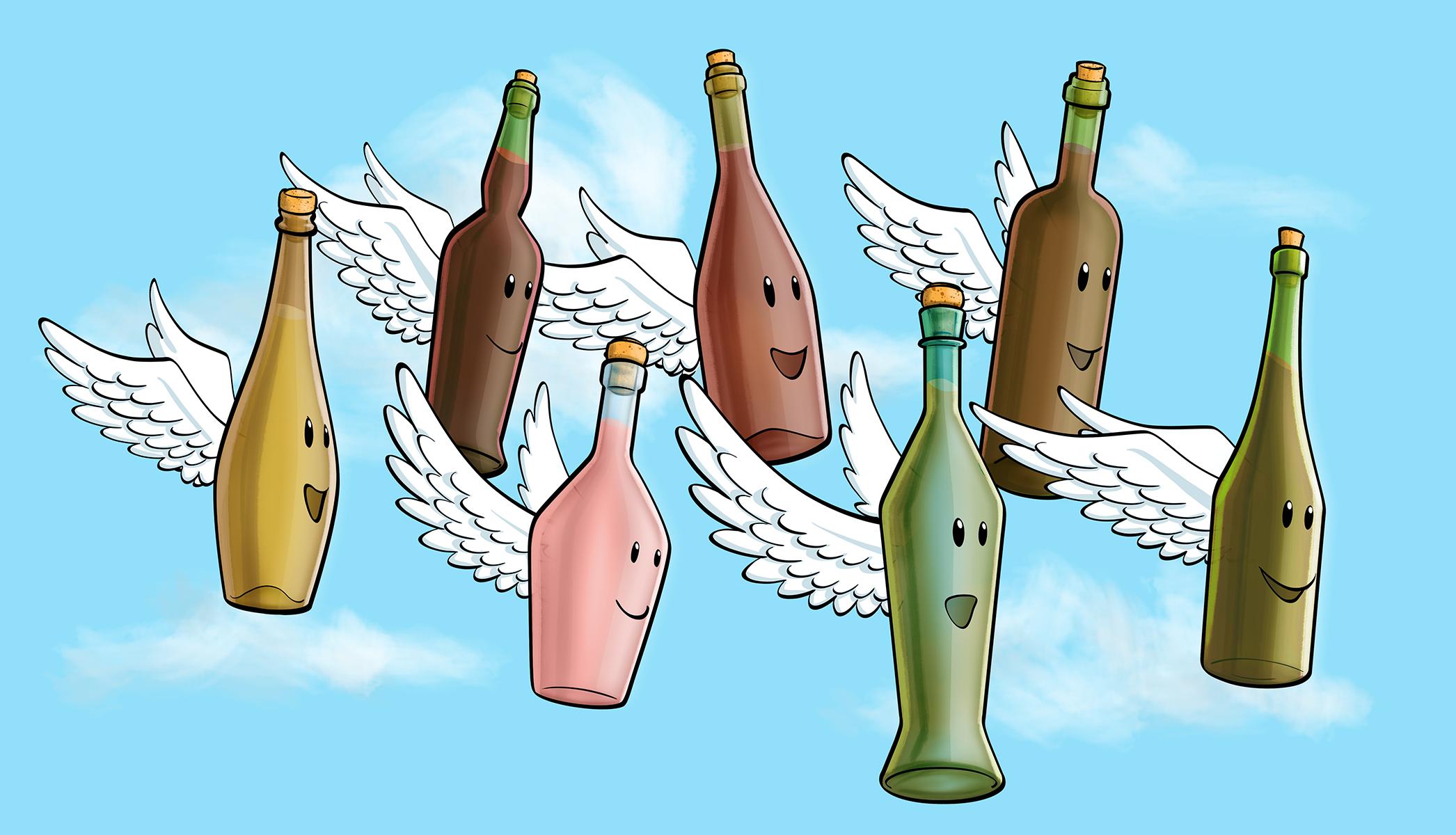 bottiglie volanti esecutivo