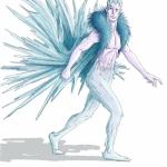 uomo del ghiaccio bozza color