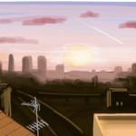 Tramonto (Sunset).