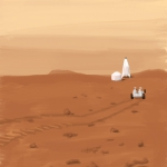 Missione marziana (Mission on Mars).