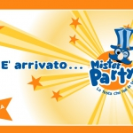 Mister Party website. Homepage.