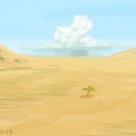 Paesaggio africano (african landscape).