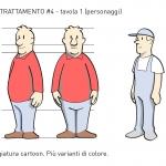 Unione Petrolifera Characters study 6