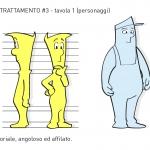 Unione Petrolifera Characters colors tone study 2