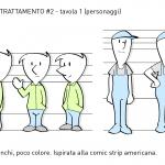 Unione Petrolifera Characters study 5