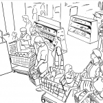 Budweiser supermarket frame 2